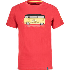 La Sportiva Van T-Shirt Men Cardinal Red